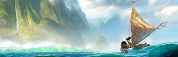 The Character of Moana is Coming to Disneyland Paris for Christmas 2016