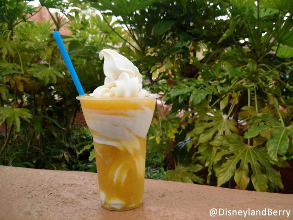 Pineapple Whip in Disneyland Paris