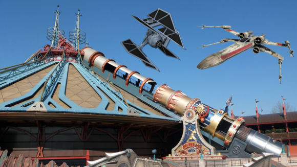 The Two Big Reasons Why Space Mountain in Disneyland Paris Shouldn't Have A Star Wars Theme