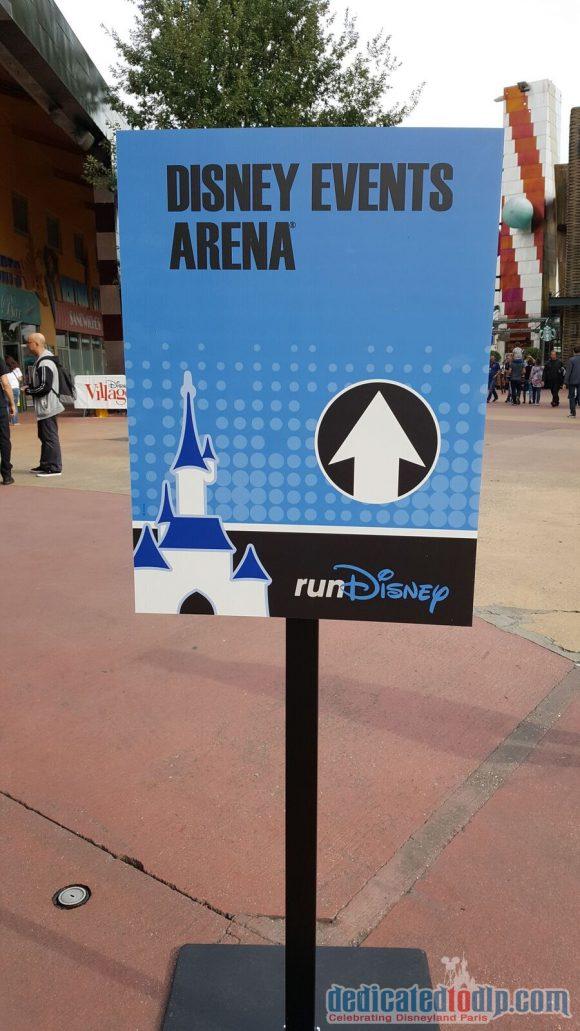 Disneyland Paris runDisney Diary Day 1