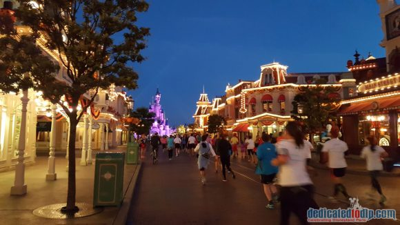 Disneyland Paris runDisney Diary Day 3 – The 5K Race