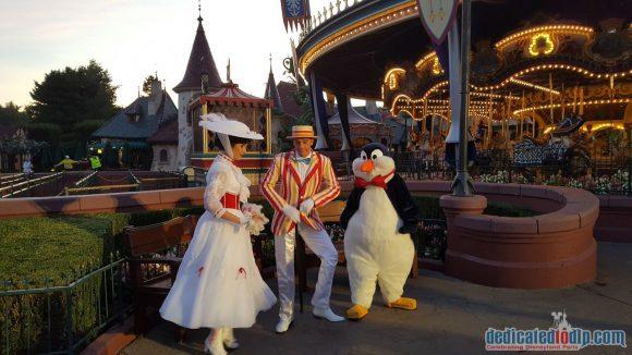 Disneyland Paris runDisney Diary Day 3 – The 5K Race with Bert, Mary and Penguin