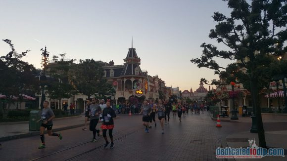 Disneyland Paris runDisney Diary Day 4 - The Half Marathon
