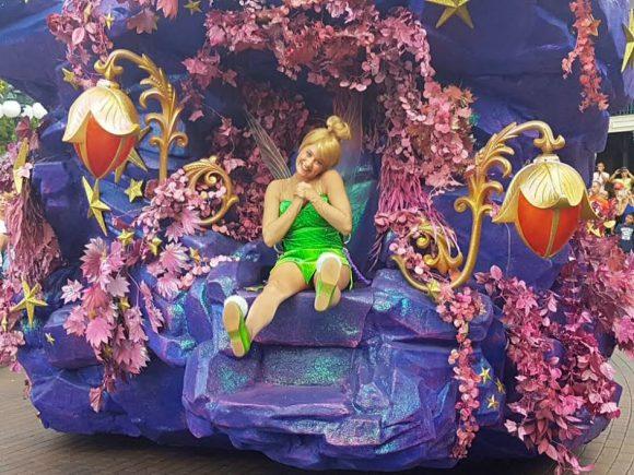 Katie's Disneyland Paris Trip Report Tinkerbell
