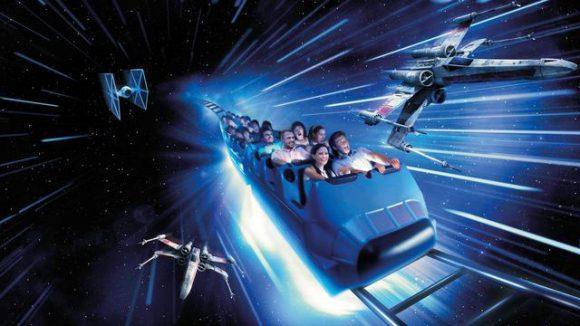Disneyland Paris 25th Anniversary - Star Wars Hyperspace Mountain