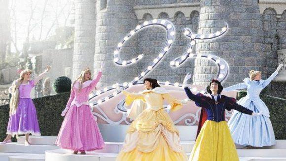 Disneyland Paris 25th Anniversary - The Starlit Princess Waltz Shows