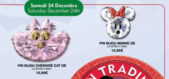 Disneyland Paris Pins For December 2016