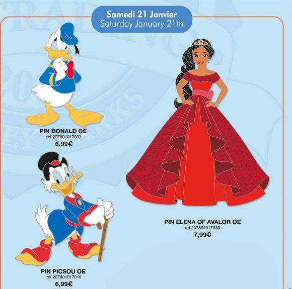 Disneyland Paris Pin Releases – January 21st 2017