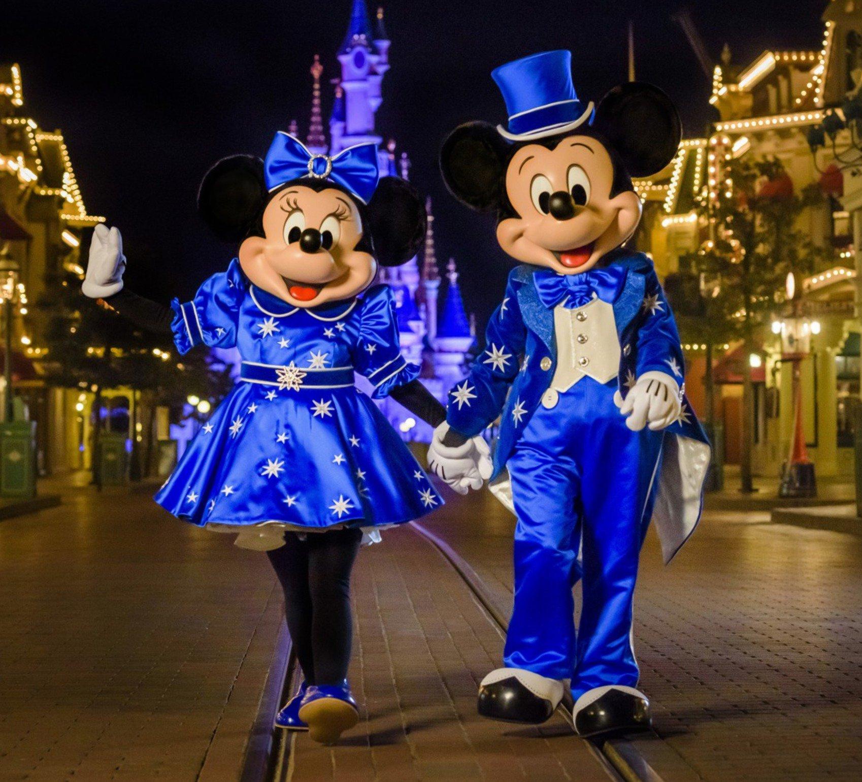 NEW Disneyland Paris 25th Anniversary Mickey and Minnie Costumes