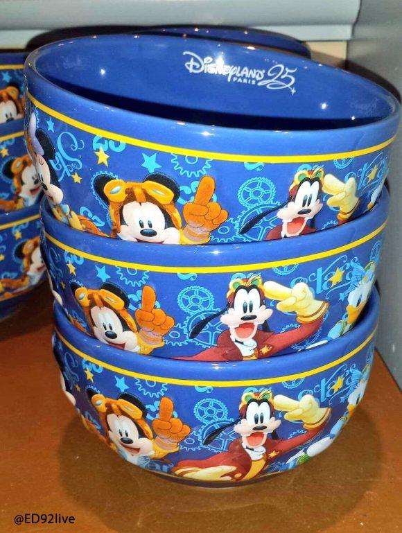 Disneyland Paris 25th Anniversary Breakfast Bowl