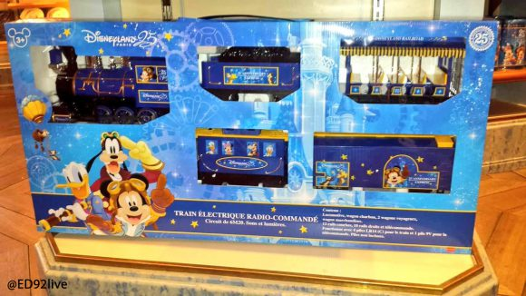 Disneyland Paris 25th Anniversary Train Set