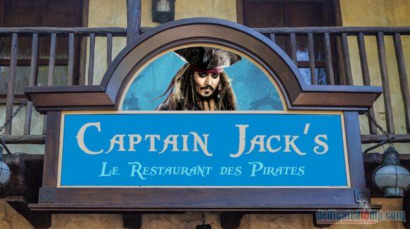 Disneyland Paris News: Blue Lagoon to be Renamed Captain Jack's