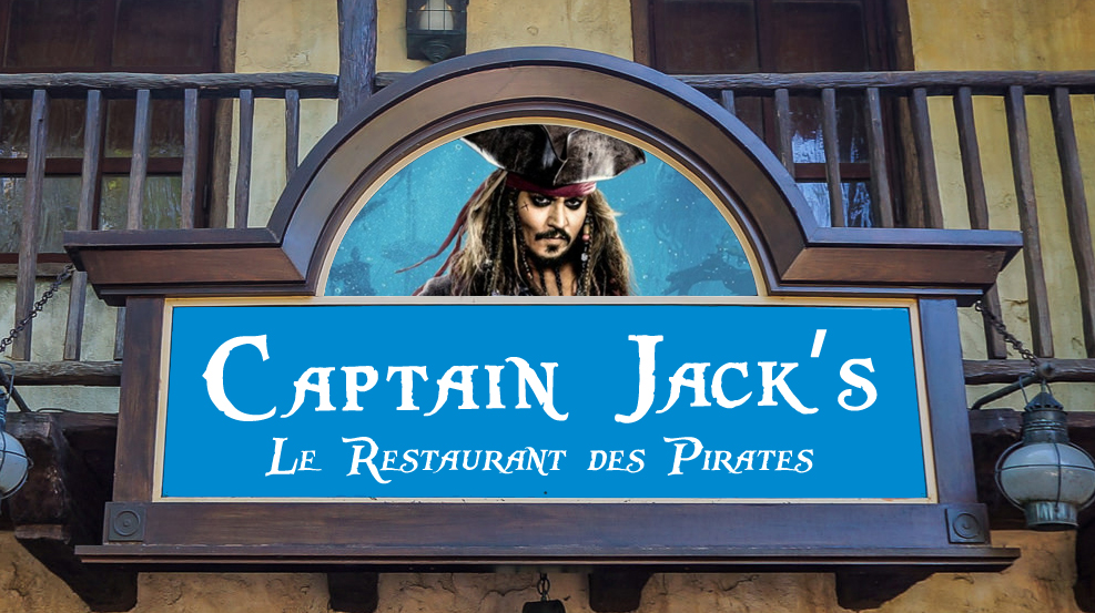 Disneyland Paris News: Blue Lagoon to be Renamed Captain Jack's - Is That A Bad Thing?