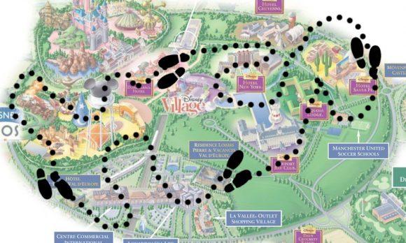 How Far Do You Walk in Disneyland Paris?