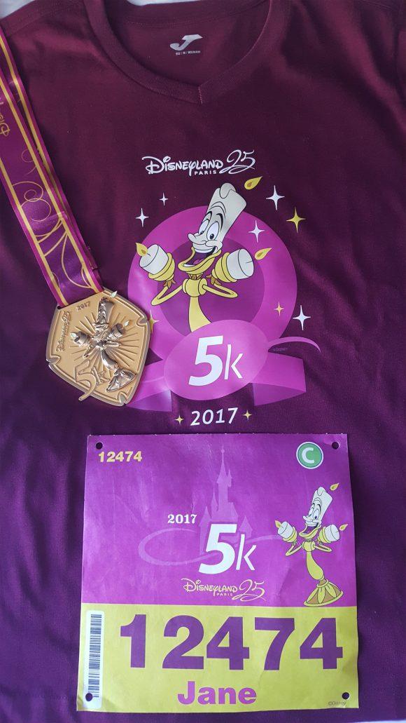Disneyland Paris runDisney 2017 Diary Day 1 - The runDisney 5K