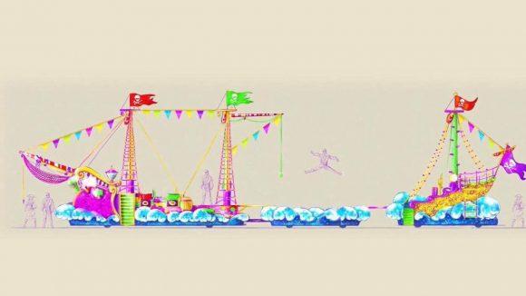 Disneyland Paris Princesses and Pirates Festival Pirate Float