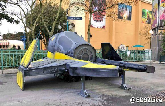 Star Wars Season of the Force Disneyland Paris ETA-2-Jedi-Starfighter