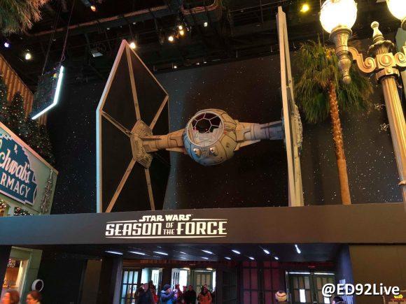 Star Wars Season of the Force Disneyland Paris Tie Fighter