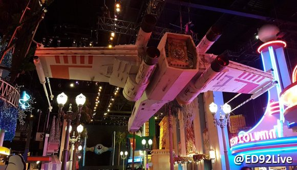 Star Wars Season of the Force Disneyland Paris X-Wing