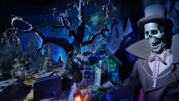 Phantom Manor Event in Disneyland Paris