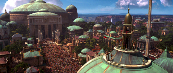Theed Royal Palace - Star Wars Episode I The Phantom Menace