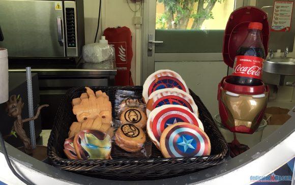Marvel Summer of Super Heroes Merchandise and Snacks in Disneyland Paris