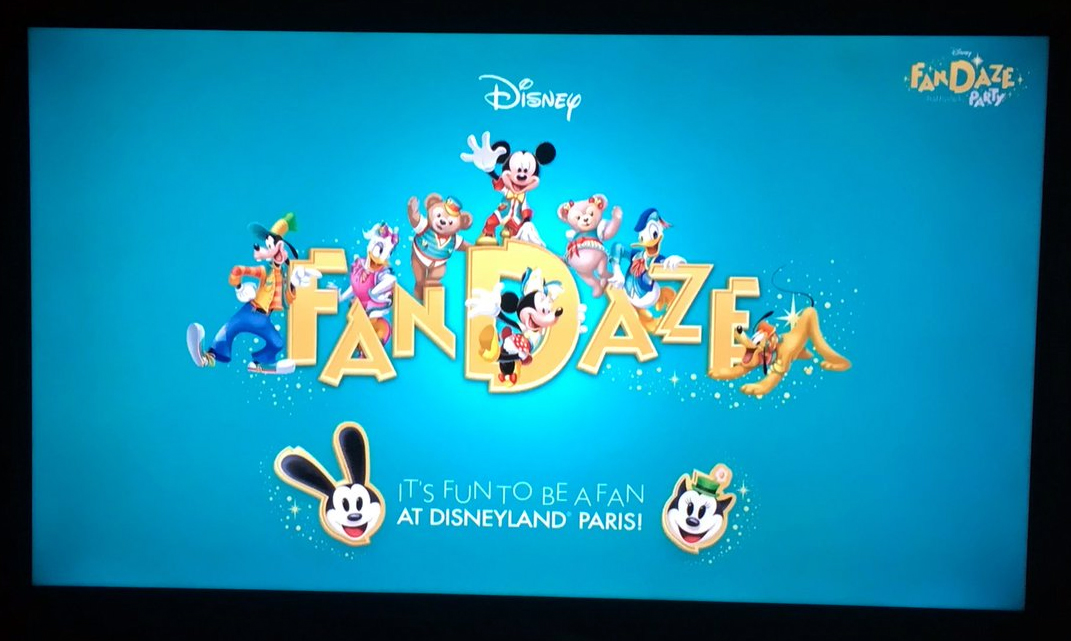 The Disney FanDaze Inaugural Party