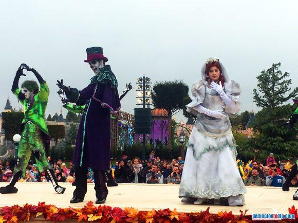 Halloween 2018 in Disneyland Paris - Mickey's Halloween Celebration Parade