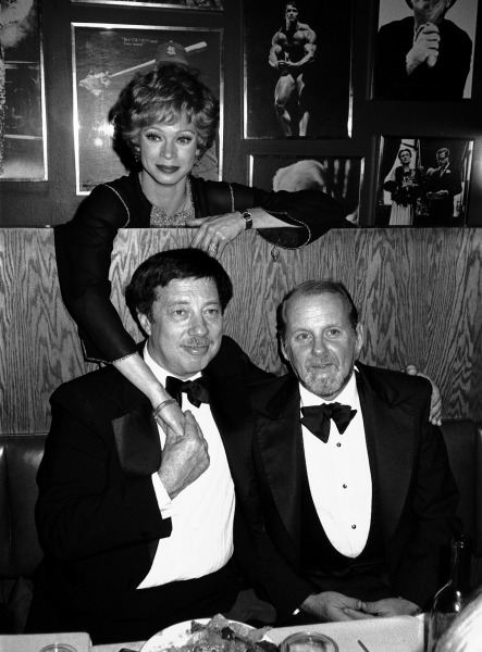Swwt Charity | Cy Coleman with Bob Fosse and Juliet Prowse attending a Theatre Benefit party in New York City. November 1981