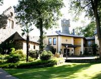 Hotel Burg Schwarzenstein Park auf die Burg