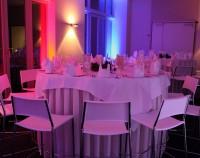 Foyer Veranstaltungszentrum der Leipziger Foren Abend