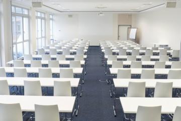 Bestuhlung Veranstaltungszentrum der Leipziger Foren