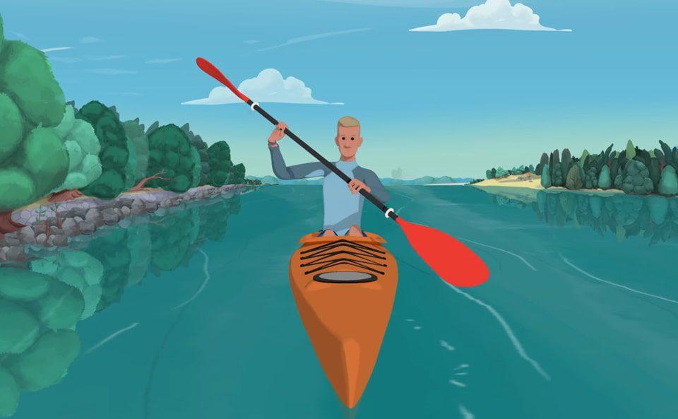 Kayaking tutorial's