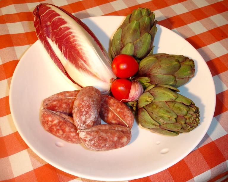 Bavette mit Salsiccia