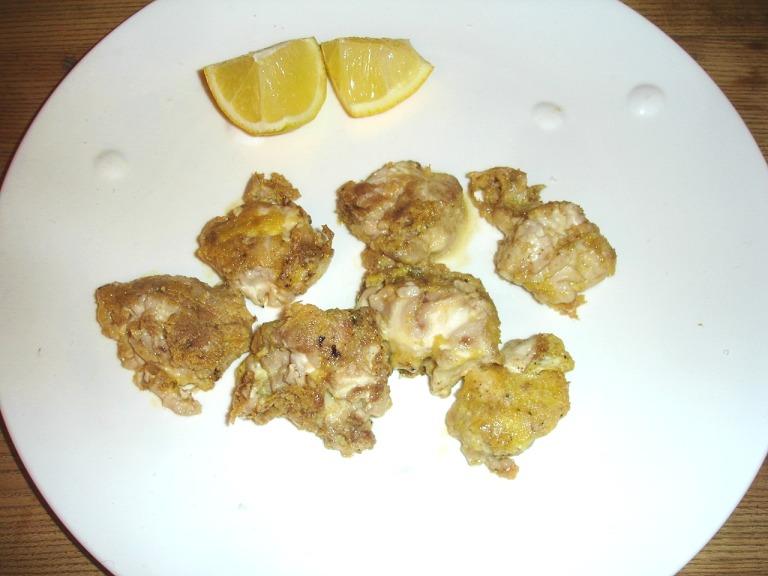 Kalbshirn mit Eigelb- Parmesankruste