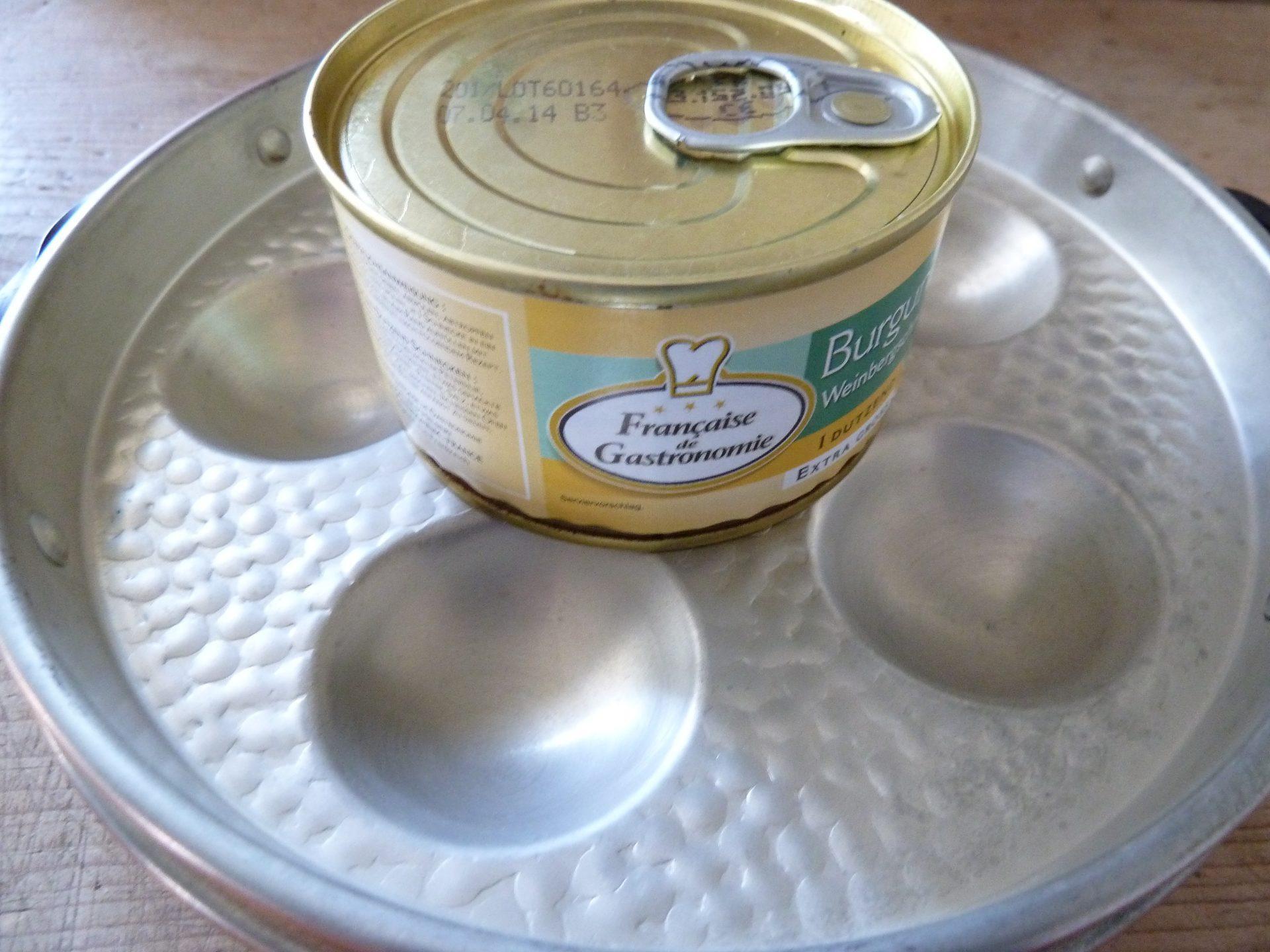 Weinbergschnecken mit Kräuterbutter