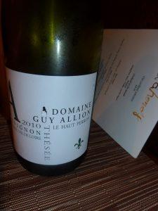 Frischer, fruchtiger Weißwein von der Loire