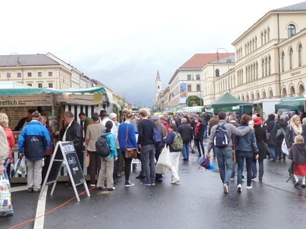 Bauernmarktmeile Odeonsplatz