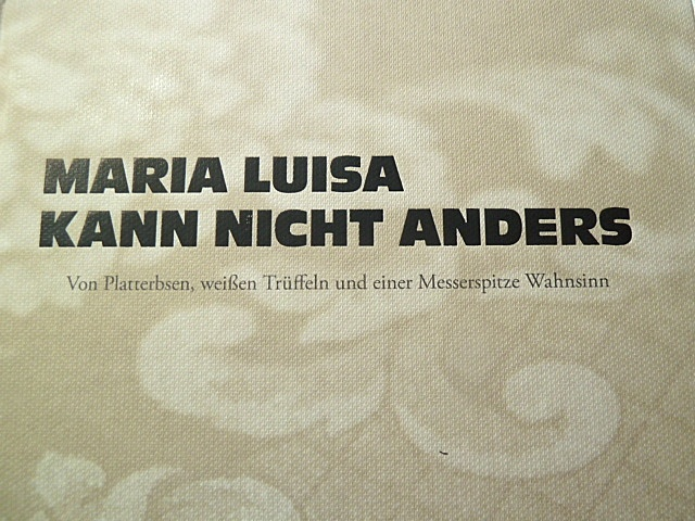 Maria Luisa kann nicht anders