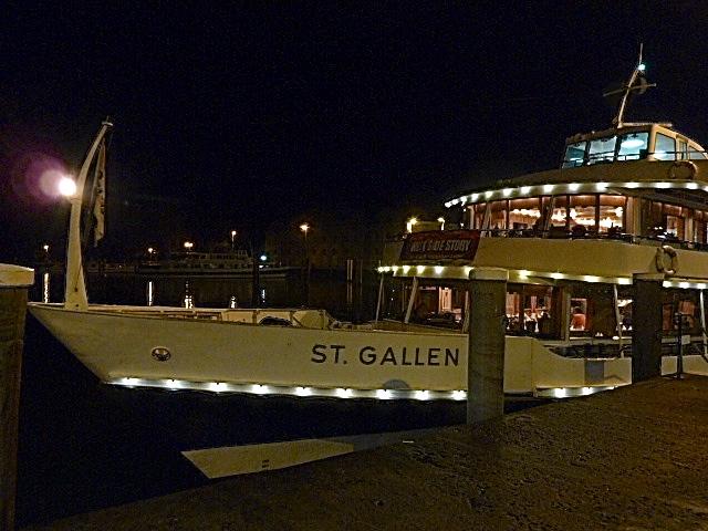 Auf dem Bodensee mit dem Fondueschiff