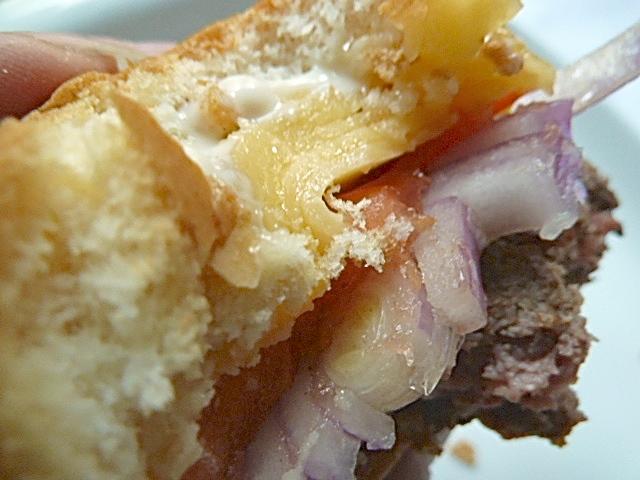 Yak-Fleisch Mini-Hamburger