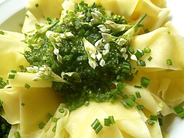 Pesto-Nudeln