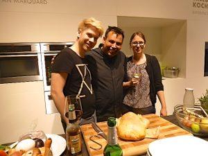 Christian Mittermeier mit Björn und Tina