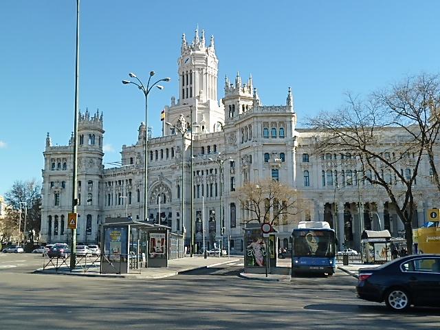 am Prado vorbei