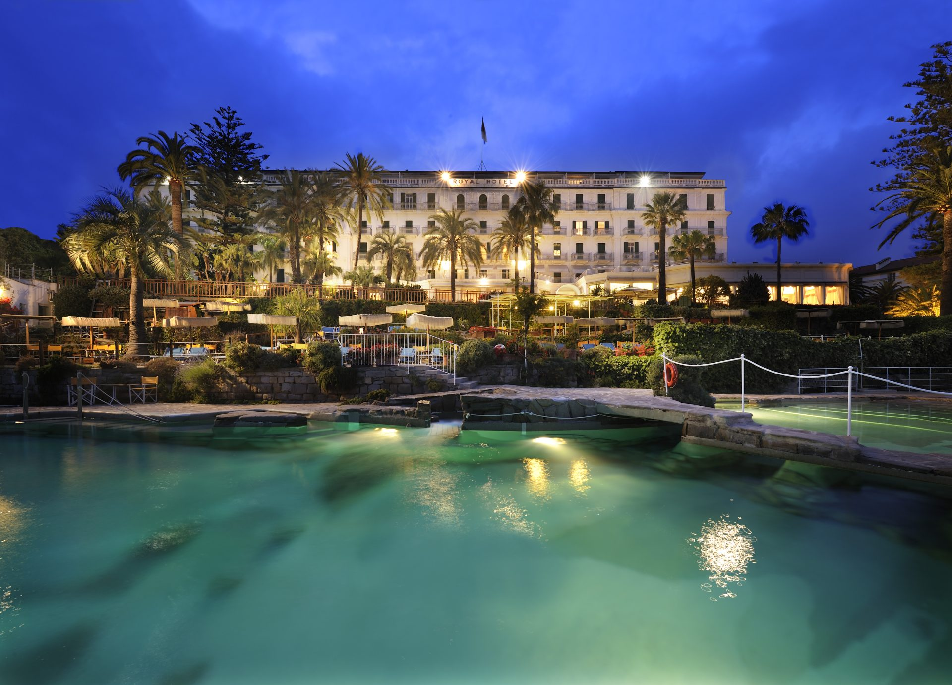 2 Tage im Hotel Royal San Remo
