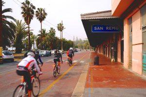 Wo früher Bahngleise waren liegt heute die vielbefahrene Radstrecke