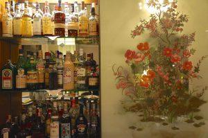 abends in der Bar delle Rose