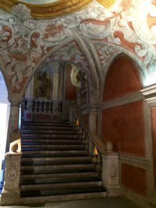 nach dem Flohmarkt ein Besuch im Palais Lascaris