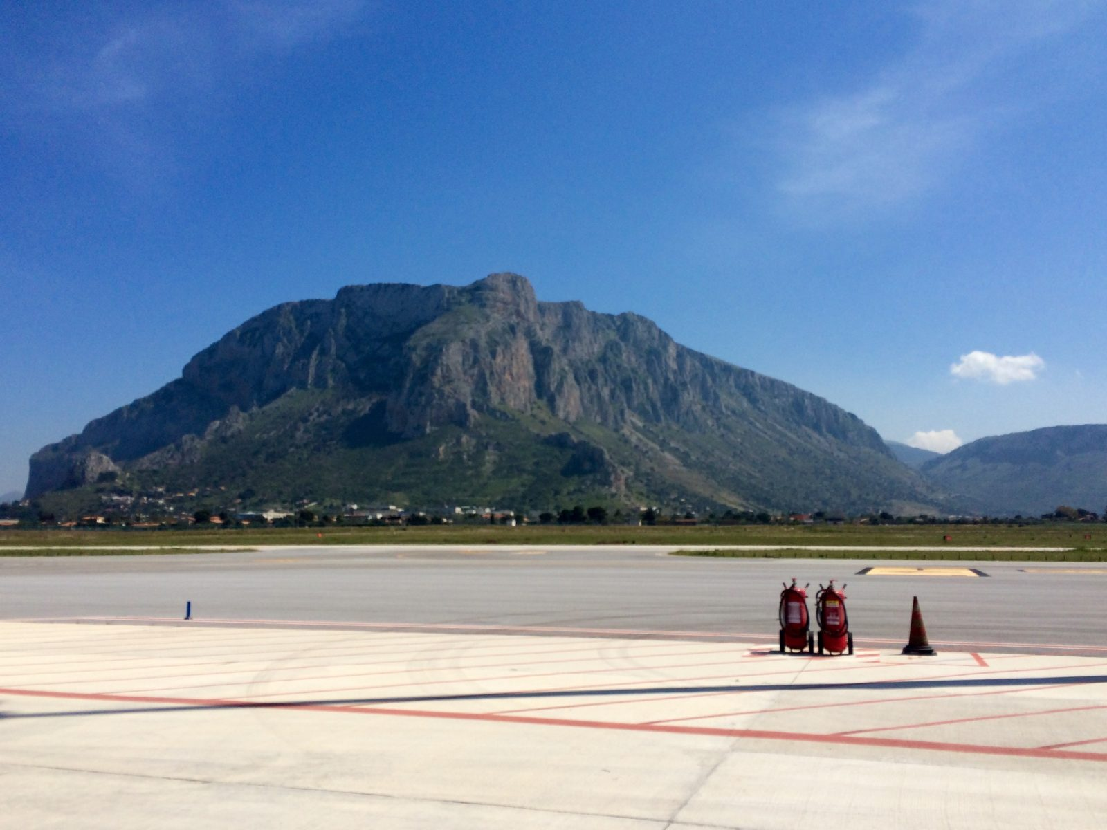 Ankunft in Palermo