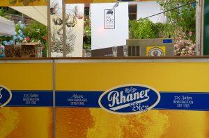 und Bier von Rhaner Bräu